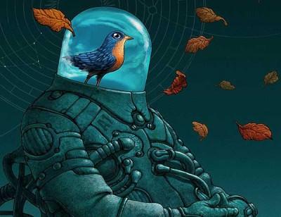 птицы-космонавты