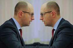 яценюк обвиняет врагов