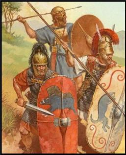 Рим Римские воины